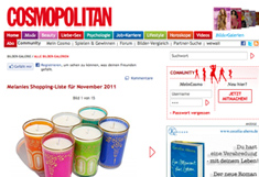 Cosmopolitan - Melanies Highlights im November
